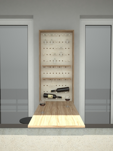 Wine cupboard