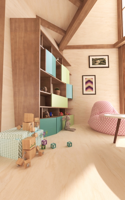Tree house - Playroom