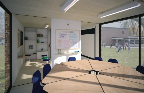 Classroom - Secondary school - Interior