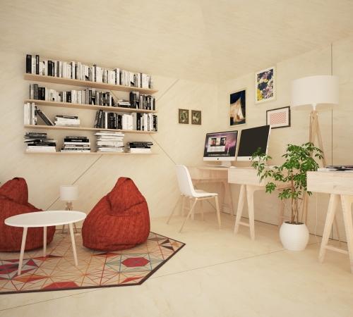 Modular office 1 - Interior